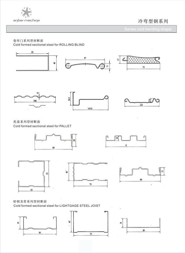 Profile drawing -- World Technology Machinery Jiangsu Co ,Ltd
